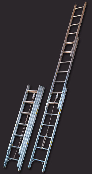 Alco Lite Aluminum Fire Ladder Pumper Style Fire Ladders